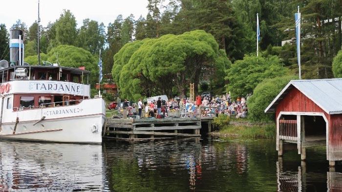 Bootshafen Virrat