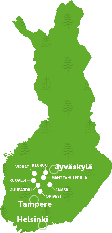 The Heart of Finnland – The Map