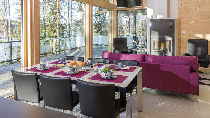 Mustikkakallio – A luxury villa located in Keuruu