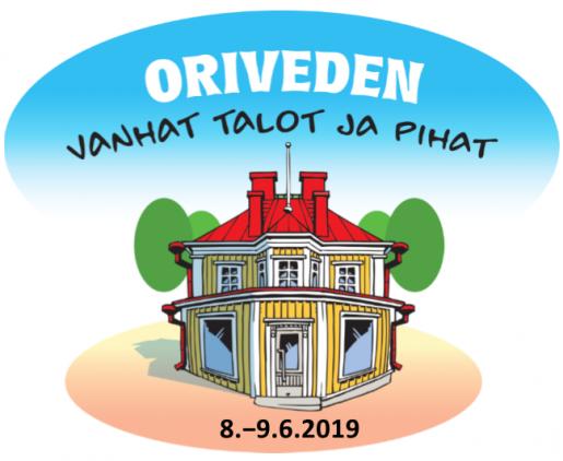 Oriveden Vanhat talot ja pihat -tapahtuma järjestetään kesäkuun ensimmäisenä viikonloppuna.