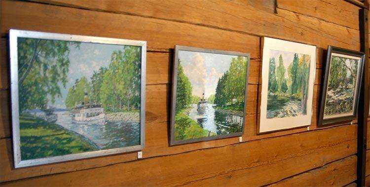 Ruovesi, Art in the granary