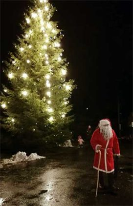 Juupajoki, joulu