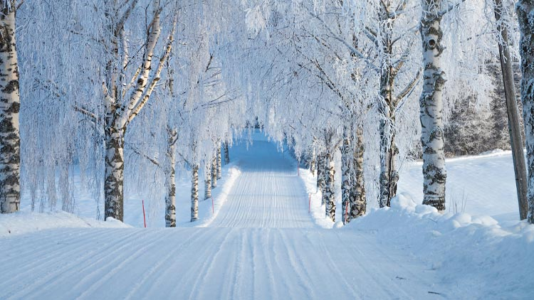 Ruovesi, Winter